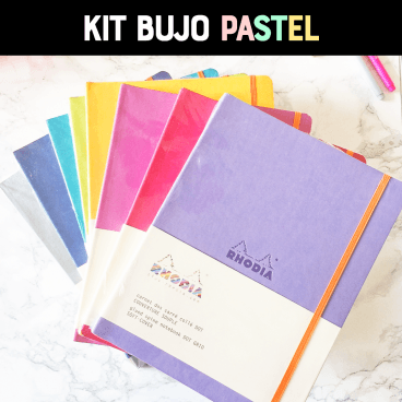 Kit Bullet Journal®: Pastel