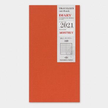recharge mensuelle 2021 traveler's notebook