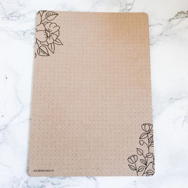 marque page bullet journal kraft