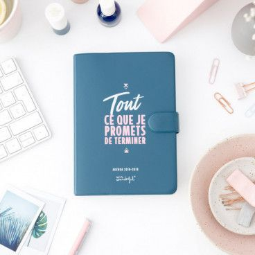 agenda mr wonderful petit modele jour 2018 2019