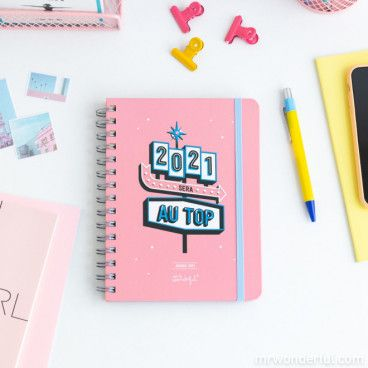 Mr Wonderful Agenda sketch 2021 Semainier / 2021 sera au top