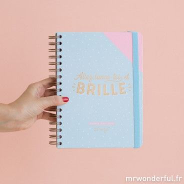 Agenda Mr Wonderful semainier