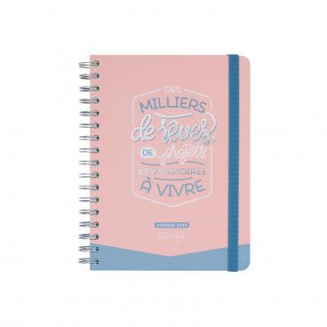 Agenda Mr Wonderful jour