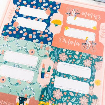 onglets pour bullet journal