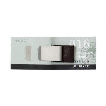 pen loop noir cuir