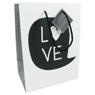 sac pochette cadeau chic love