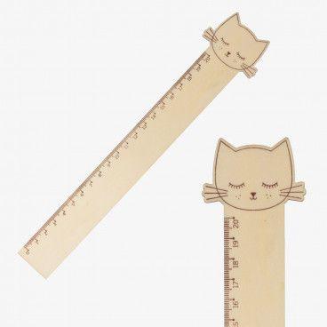 regle bois chat