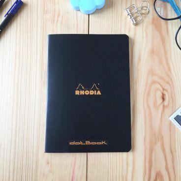 cahier pointillés A5 rhodia