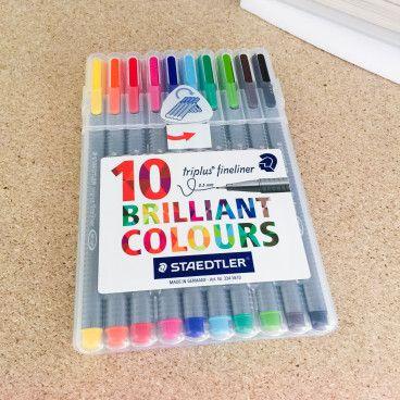 Triplus FineLiner - Brilliant Colours