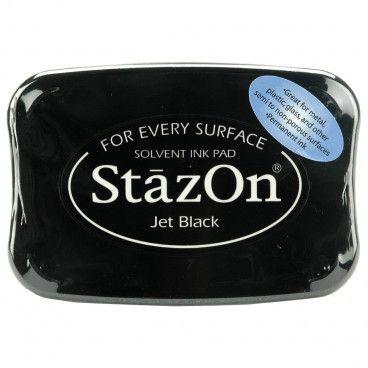 Encreur Stazon Noir pour tampons