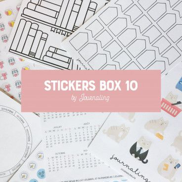 stickers box 10