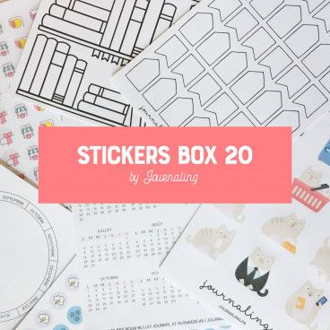 stickers box 20