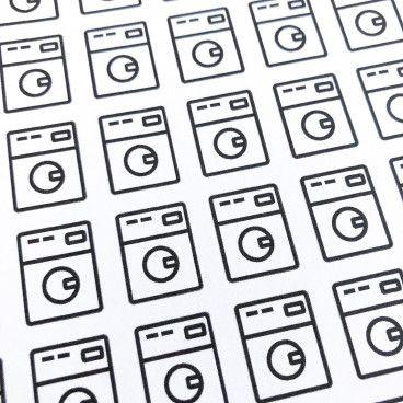 Stickers - Stickers machine a laver ...