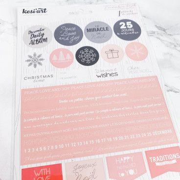 Stickers Noël, 25 Décembre