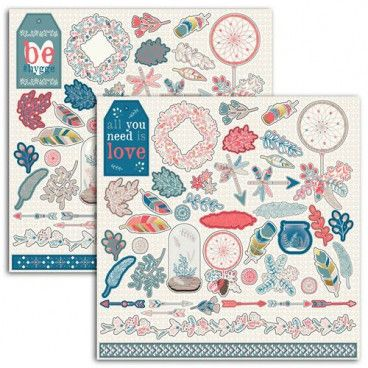 86 Stickers Cocooning Hygge