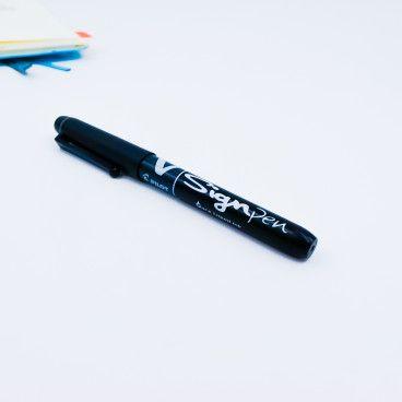 Stylo Feutre Pilot Sign Pen Noir
