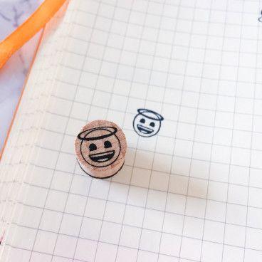 smiley ange tampon