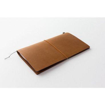 traveler's notebook cuir camel