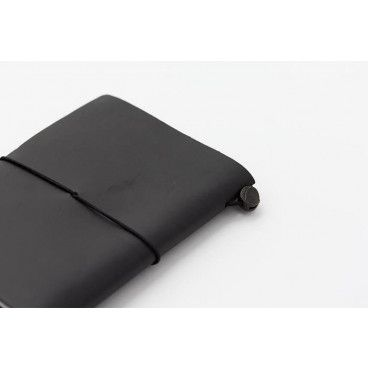 Carnet TRAVELER´S Notebook noir cuir
