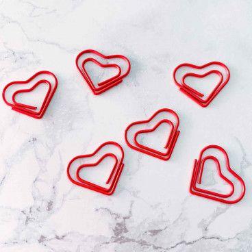 Trombone Coeur rouge