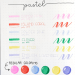 feutres brush pastel dingbats