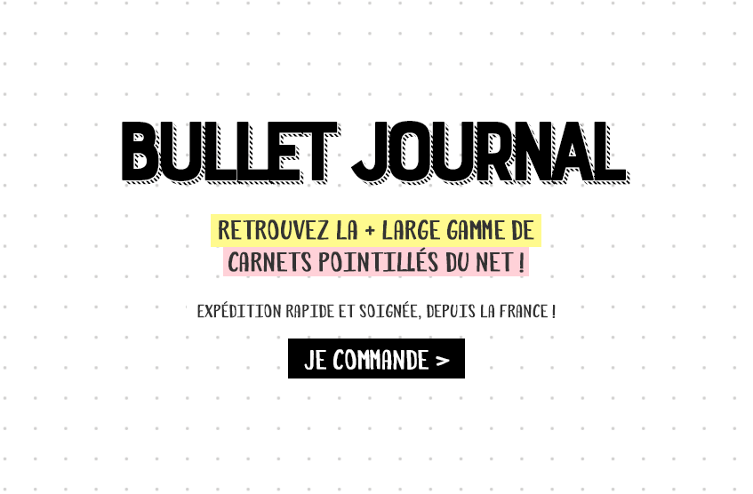 carnet pointillés bullet journal